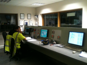 Rabbit Group Control Room in the Energy recovery Facility