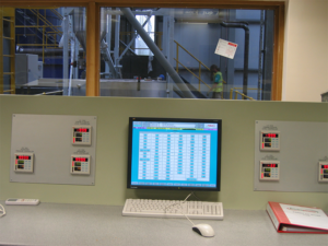 Rabbit Group Energy Recovery facility control room